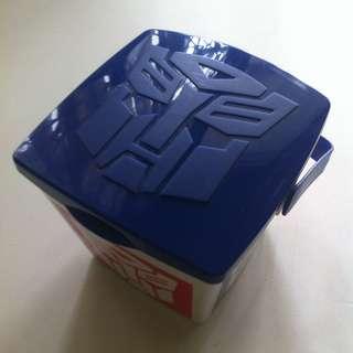 UNIVERSAL STUDIOS SINGAPORE TRANSFORMERS LUNCH BOX KOTAK MAKAN SIANG