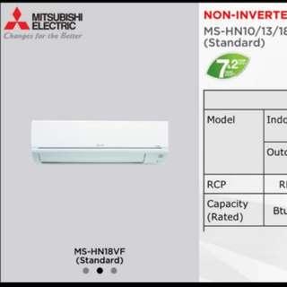 NEW Mitsubishi 2.0 HP aircond NEGO