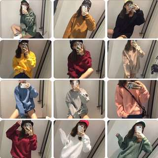 🚚 10色可選衛衣