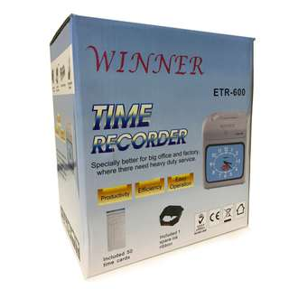 PUNCH CARD MACHINE / ATTENDANCE TIME RECORDER