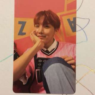 [ WTT ] J-Hope E Version Photocard BTS Love Yourself