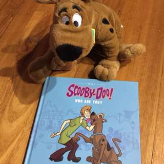 Scooby Doo interactive toy and book