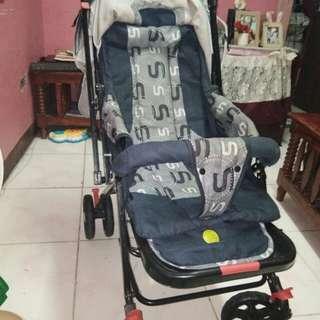 Stroller Blue