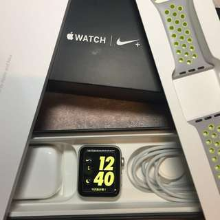 42mm Nike sports -Apple Watch Series 2 silver col