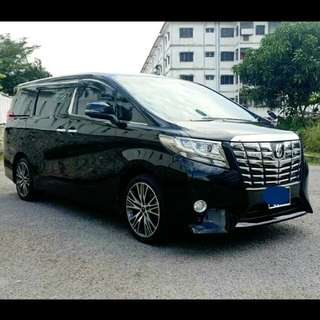 Toyota Alphard 2.5L (A) New model Sambung Bayar /Car Continue Loan