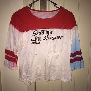 Harley Quinn costume/cosplay shirt