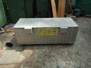 Aluminum box for lorry