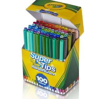 BN Crayola Super Tips Markers 100 pcs pack