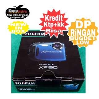 FUJIFILM FINEPIX XP80 Resmi-cash/kredit ditoko ktp+kk bisa 081905288895