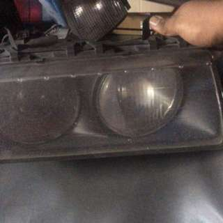 E36 HELLA HEADLAMP ORIGINAL PAIR SET