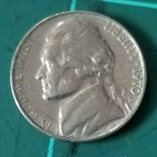 1970 USA FIVE CENTS (S)