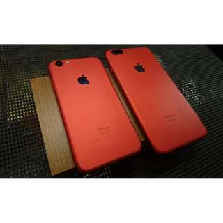 iphone 6 128g / iphone 6s+ 64g I7 紅色樣式