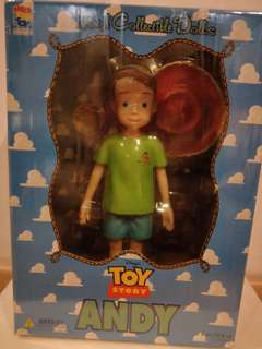 Collectible Andy from Toy Story.  Medicom Toys