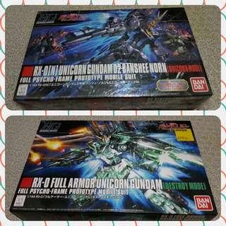 Bandai HG 1/144 Unicorn Gundam