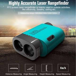 Laser Rangefinder 600M 1000M 1500M Telescope Distance Meter Range Finder Golf Hunting Travel Outdoor Activities Distance Measurement Tool