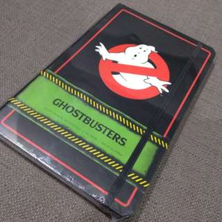 Ghostbusters hardbound notebook