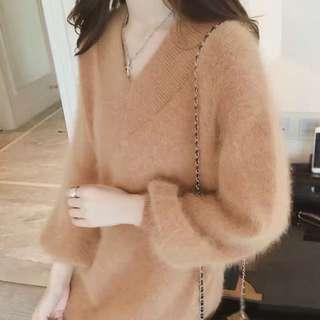 korean style sweater
