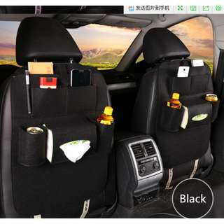 Car seat organizer Tas Mobil Multifungsi. Warna : Hitam, Grey. Berat : 320Gr.