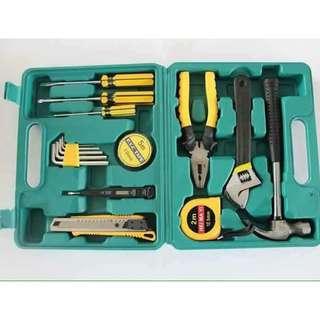 Lechg tools 16 pcs handy tools set