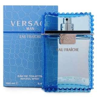Versace Man Eau Fraiche Cologne For Men 3.4 oz