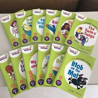 Kindergarten English Phonics Readers Books