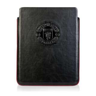 曼聯 iPad Cover Manchester United PU Leather 黑色皮套 Case Apple