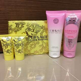 Authentic Versace Body Lotion and Shower Gel