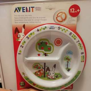 Avent plate for kid 12m+