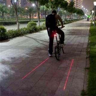 Waterproof LED Bicycle Bike Light Night Mountain 5 LED+ 2 Laser Tail Light MTB Safety Warning Bicycle Rear Light Lamp Bike Accessories
