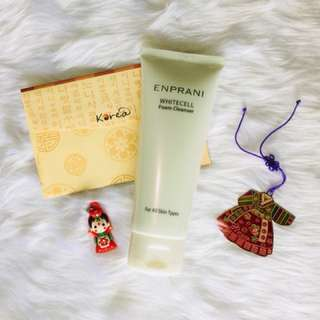 Authentic Korean Skin Care product Enprani White Cell Foam Cleanse