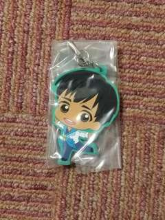 Phichit Chulanont - Yuri on ICE Animate gacha exclusive rubber strap. Shipping included in price. Price will be reduced if you choose meetup.