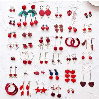 Earring free Shopping mini order 2pieces