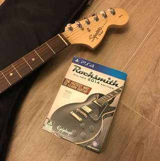 Rocksmith 2014 with Squier Electric Guitar