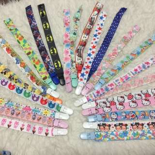 Pacifier clips tutu clip baby newborn toddler clip on to shirt clothes