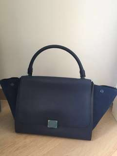 Celine 手袋 Medium Trapeze Long Strap