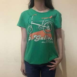 Mangosteen green t-shirt