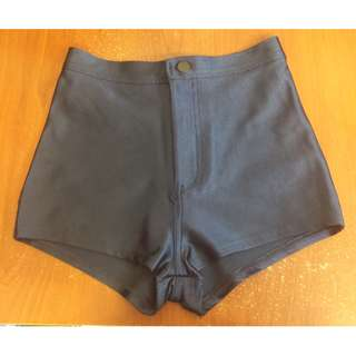 American Apparel Disco Shorts Navy Small