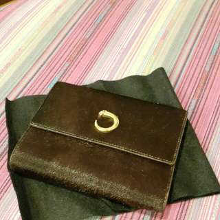 Cartier  pony hair wallet