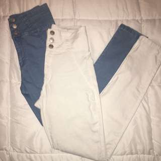 High Waisted Jeans (bundle)
