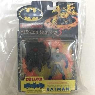 Batman Animated Series Mission Masters 3 Anti Virus Bruce Wayne