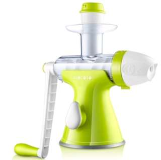 Home Security Juicer Manual Auger Slow Juice Fruit, Wheatgrass, Vegetables, Orange Juice Extractor Machine