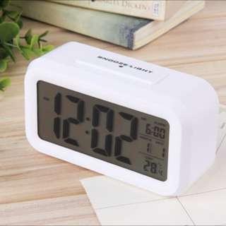 LED Digital Electronic Alarm Clock Time and Calendar