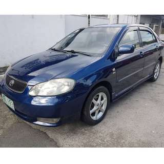 2001 Toyota Altis 1.6 G Automatic