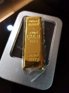 32gb usb pendrive goldbar