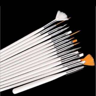 Nail Art Design Pen Painting Brush Set! 15 Pieces!