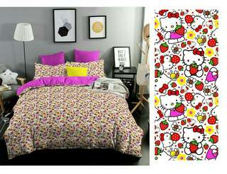 Kitty strawberry katun cvc