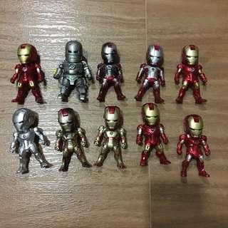 Beast Kingdom Kids Nations Marvel Iron Man 3 Earphone Pluggy loose figures
