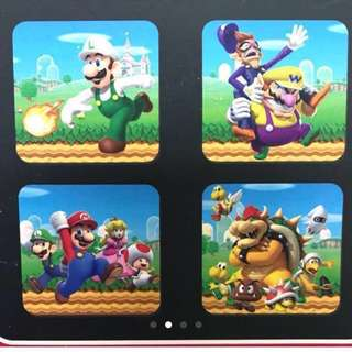 Mario 3D Coaster (total 8 pieces)