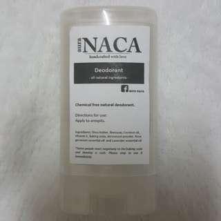 Deodorant (all natural)