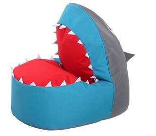 Kids House, Kids Shark Bean Bag Cover/ Chair